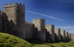 Walls and defensive towers. Ávila, Spain